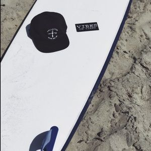 SD collective mercantile Accessories - Brand new black fabric dad surf hat